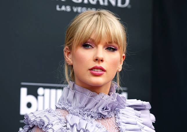 Taylor Swift at the 2019 Billboard Music Awards in Las Vegas, United States, on May 1, 2019.