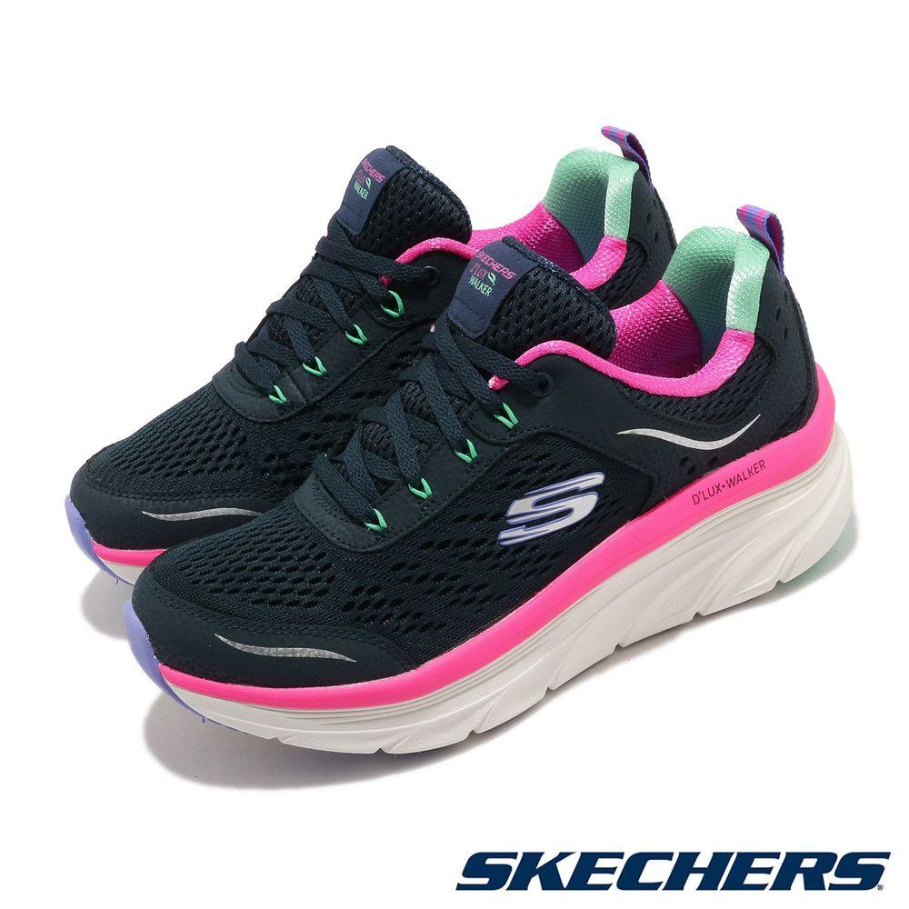 偏小,建議大半號購買品牌:SKECHERS型號:149023NVMT品名:D Lux Walker版型:版型偏小,建議大半號