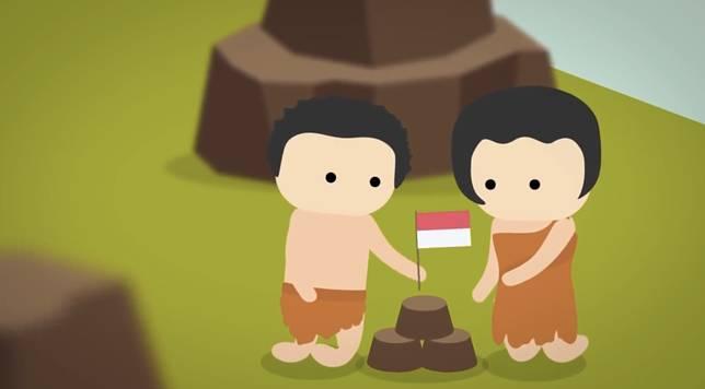 Kalau ngga pernah dijajah, emangnya bakal ada Indonesia?