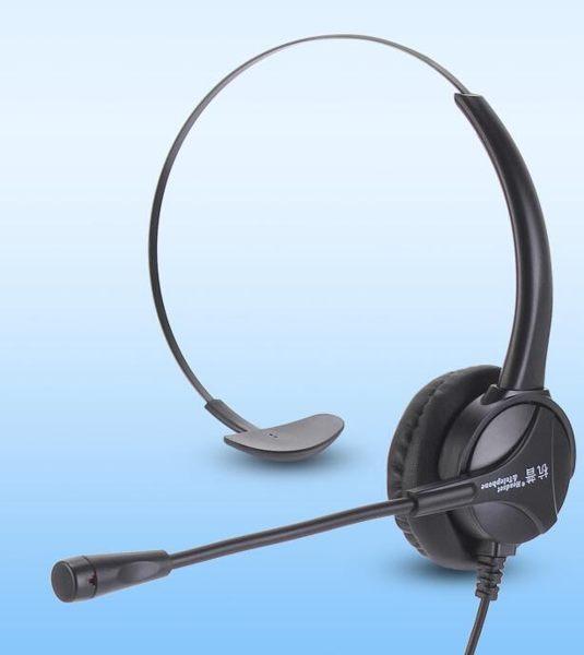 電話耳機客服耳麥話務員 降噪頭戴式外呼固話座機專用
