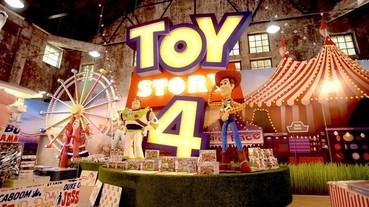 《玩具總動員》主題快閃店「玩具 FUN 派對期間限定店」開幕,等身樂高巴斯光年現身台北華山