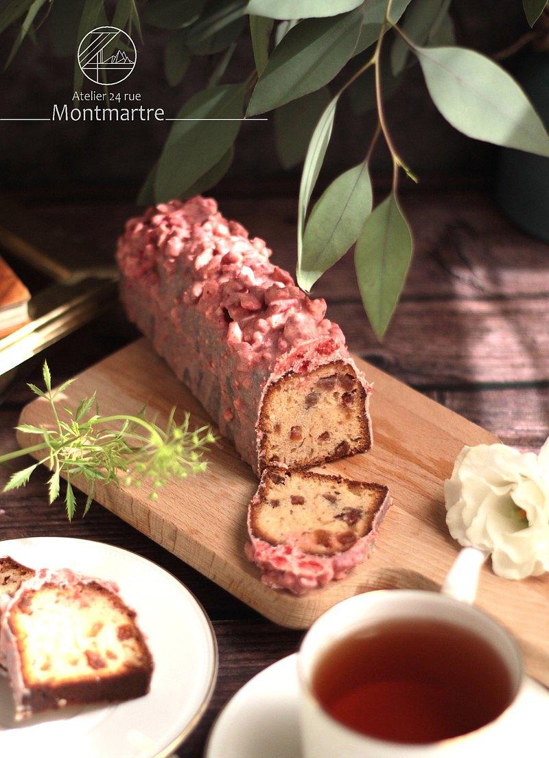 【蒙馬特24號製作所】冬季草莓磅蛋糕