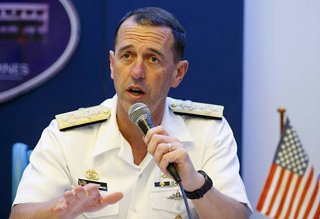 Us Admiral John Richardson To Hold Talks With Chinas Top Military Leaders