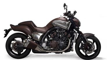 Hermes x Yamaha V-Max Motorcycle 愛馬仕xYamaha真皮重型機車