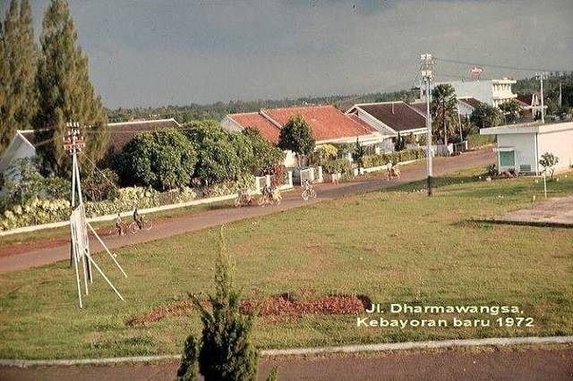 dharmawangsa, kebayoran masih sepiiiiih dok. istimewa