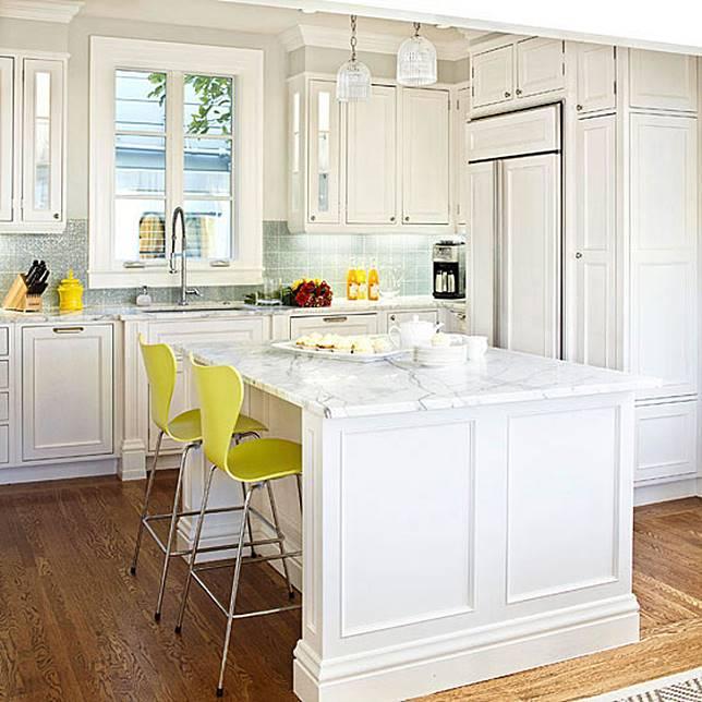 Pilih Warna Warni Cerah Seperti Hijau Lemon Atau Oranye Supaya Dapur Terlihat Ceria