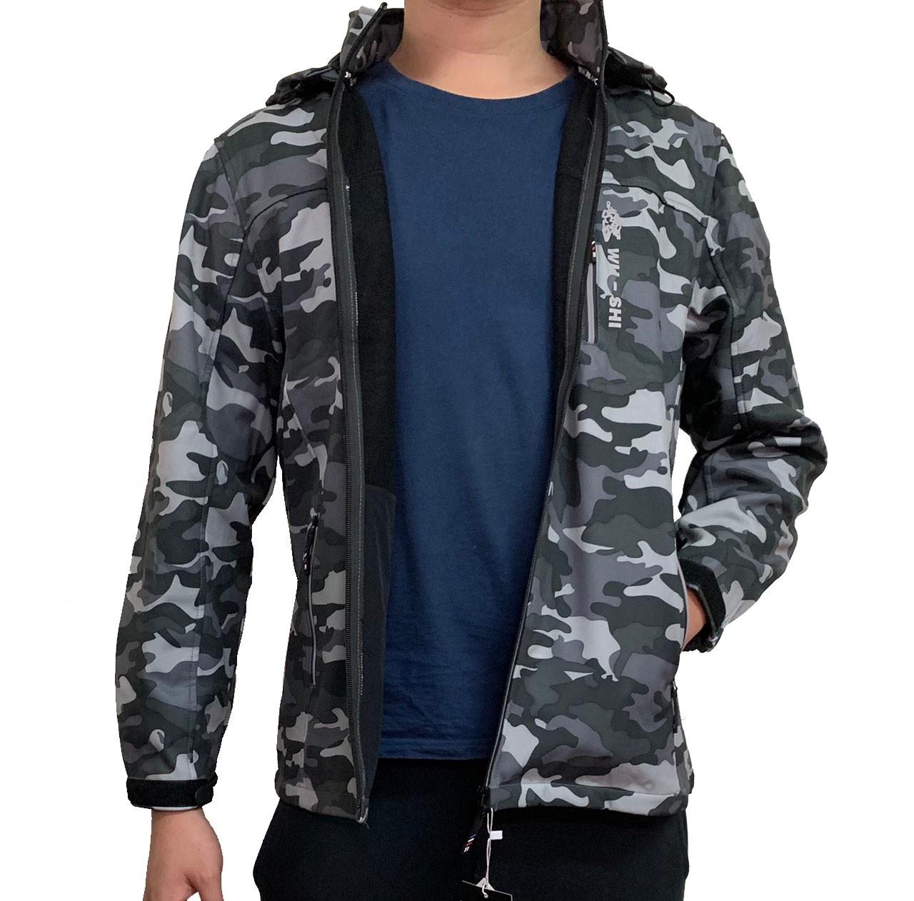 迷彩防風外套 男外套 防寒外套 保暖外套 機能外套 軍裝風外套