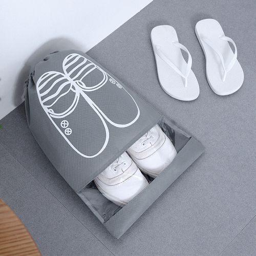 【199免運】旅行鞋子收納袋 鞋袋 束口收納袋 防塵袋