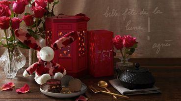 agnès b. CAFÉ法式浪漫月餅禮盒,可愛粉紅兔兔、星星燈籠美出新高度!