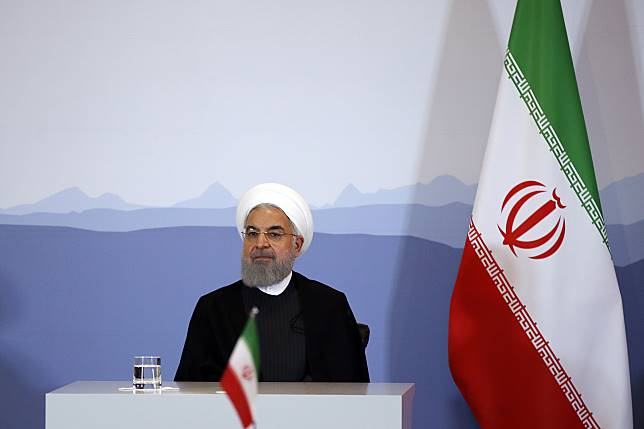 Hassan Rouhani Photographer: Stefan Wermuth/Bloomberg