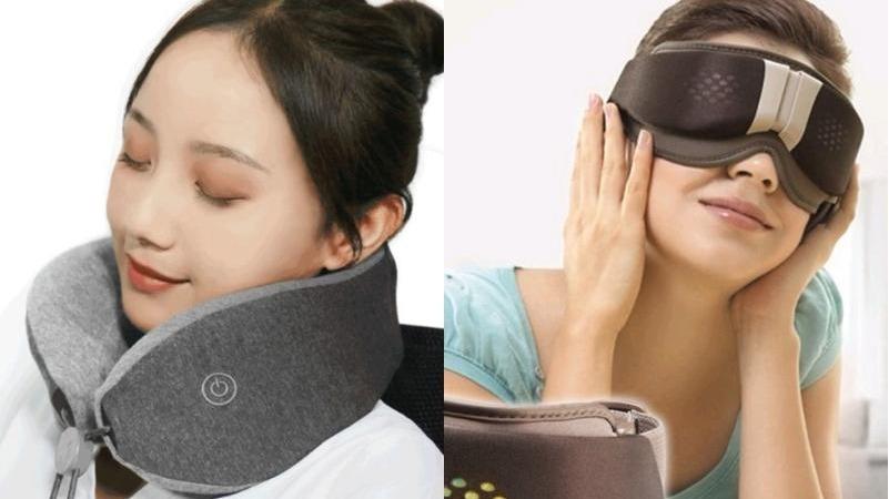 這裡痠那裡痛怎麼辦?「3大按摩減壓神器」從眼睛一路舒服到腳!
