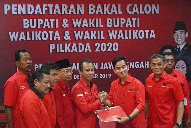 Gibran tunggu restu Megawati di Pilkada Solo 2020