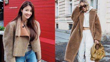 寒流來必備!Jisoo、李是英示範 3 招「泰迪熊外套」不顯胖穿搭術,不只保暖百搭還自動減齡?!