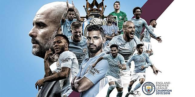 Juara dan Main Indah, Manchester City Diklaim Yang Terbaik Dalam Sejarah
