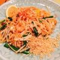 焼きビーフン - 実際訪問したユーザーが直接撮影して投稿した新宿タイ料理チャンパー 伊勢丹会館店の写真のメニュー情報