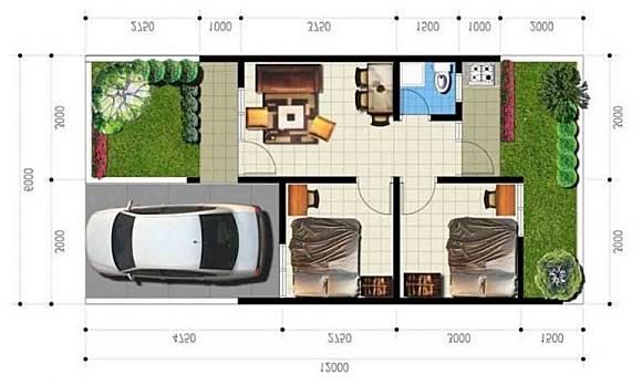 5 Desain Rumah Minimalis Type 36 Terbaru 2020 Dekoruma Com Line Today
