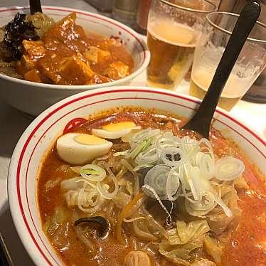 実際訪問したユーザーが直接撮影して投稿した西新宿丼もの蒙古タンメン中本 新宿店の写真