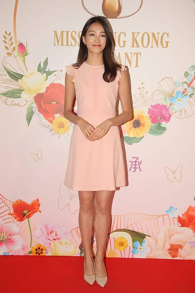 23歲高挑美女「嫩版全智賢」Katy Yeung