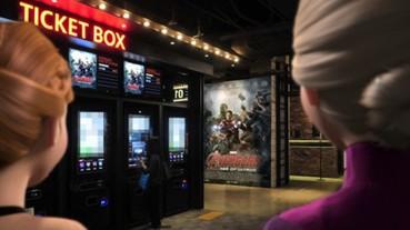 如果冰雪奇緣姊妹花去看「復仇者聯盟」 結果就出現了超展開...
