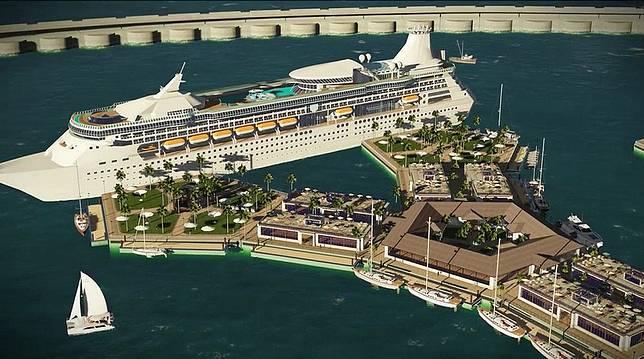 Sebuah kota terapung akan dibangun di laut Polinesia (dok. Boredpanda)