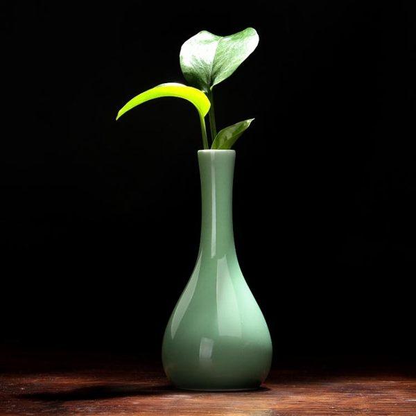 花瓶陶瓷花瓶擺件客廳插花創意簡約花器水花瓶瓷器陶瓷擺件 雅楓居
