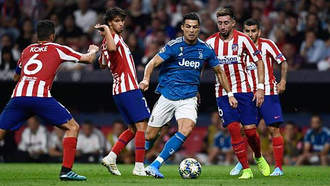 Atletico Madrid v Juventus
