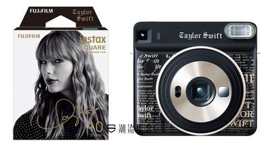 Fujifilm X Taylor Swift 推出限定拍立得及相紙系列。
