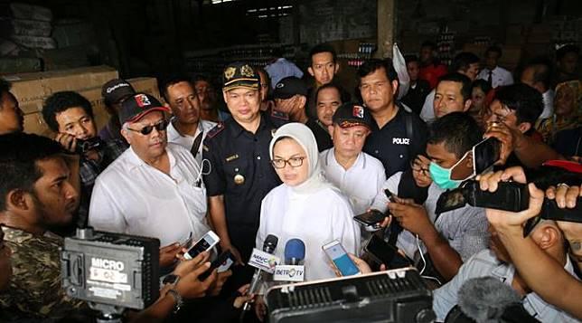 BPOM memberantas pangan ilegal di Riau. (Foto: Dok BPOM)