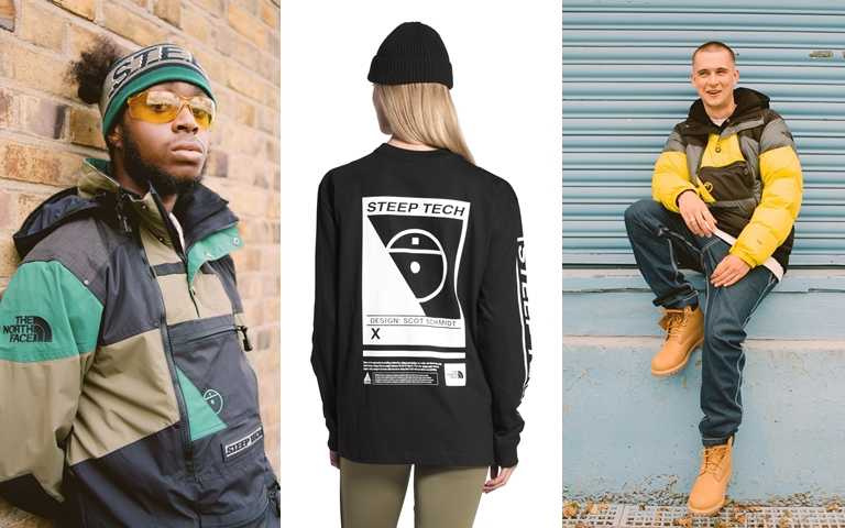 Steep Tech系列服飾即日起於指定The North Face Urban Exploration店舖發售。(圖/The North Face)