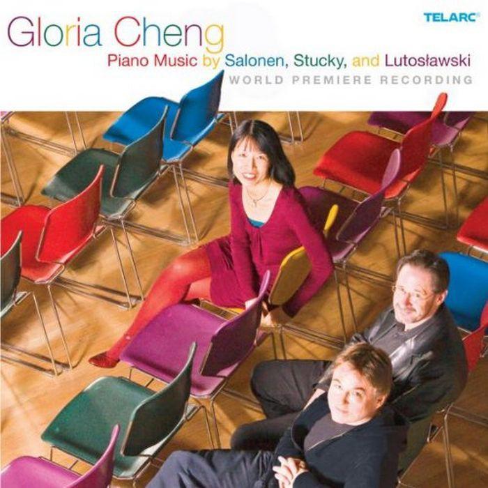 莎龍年 史塔基與盧托斯拉夫斯基現代鋼琴作品集 Salonen Stucky Gloria Cheng 80712