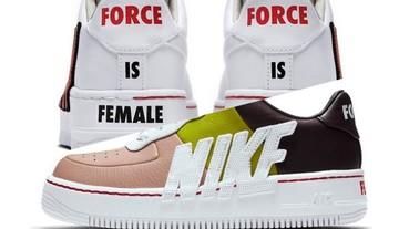 〔完售oops〕重磅女鞋強勢登場! Nike 推出 Force Is Female 女力崛起系列 !