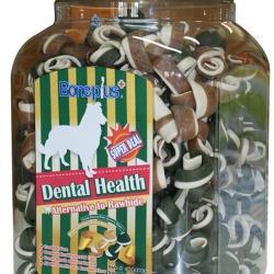 Bone Plus綜合雙色潔牙骨結桶裝L-1500G±5%