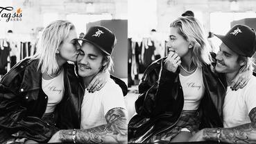 心裡再不是裝著莎蓮娜,終於定下心來?!Justin Bieber在INS親證與超模女友Hailey Baldwin定下婚約,進入人生新階段〜