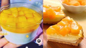 比手掌還巨的芒果奶酪!特搜 6 款當季浮誇系「黃金級芒果甜點」,滿滿芒果丁太誘人~