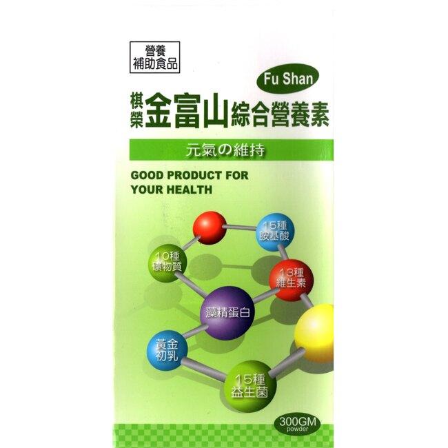 【奇買親子購物網】金富山 綜合營養素(粉狀食品)300g/1罐