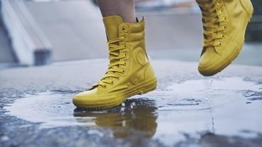 防水鞋超有型,入秋這樣搭就對了