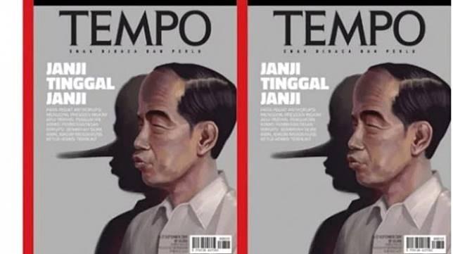 Sampul majalah Tempo. [Tempo]