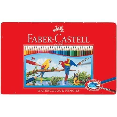 德國輝柏FABER 36色水溶性彩色鉛筆/輝柏36色鉛筆/水溶性色鉛筆