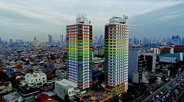 Memukau, Keelokan Ibu Kota Jakarta Dilihat dari Langit