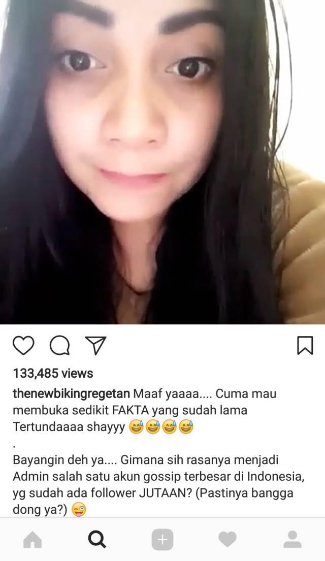 Sindiran untuk Lambe Turah (Foto: Instagram/thenewbikingregetan)