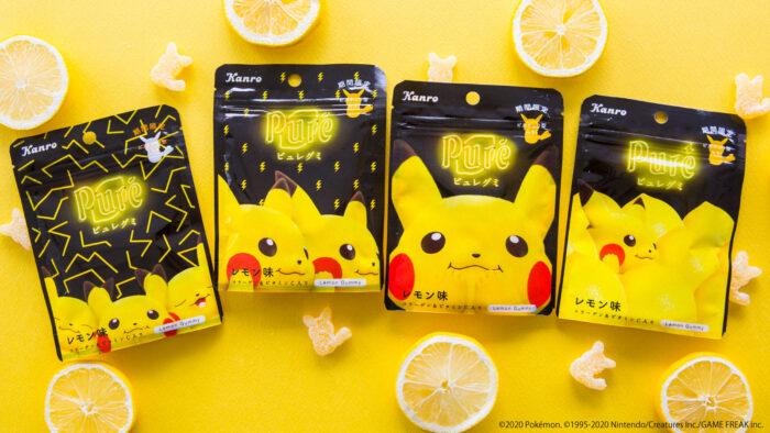 皮卡丘Pure檸檬軟糖
