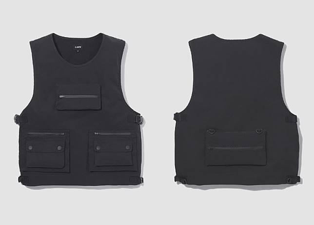Pullover Vest in Black(互聯網)