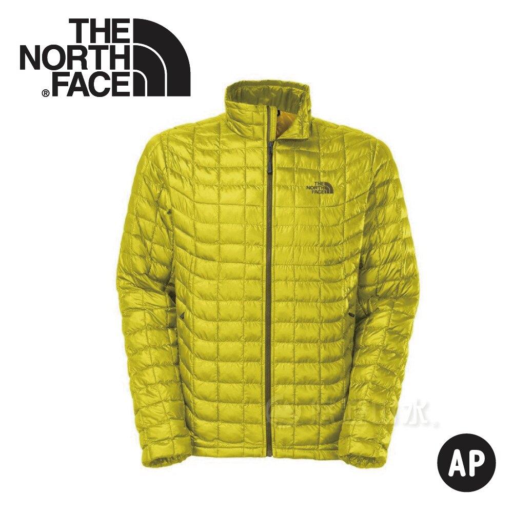 《低溫特報》【The North Face 男 TB保暖外套《黃綠黃》】C762/羽絨外套/輕量/防風外套