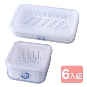 內層網孔設計瀝水便利 洗水果蔬菜時亦可使用 透明外觀內容物一目了然 台灣製造品質保證