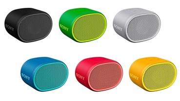 重低音小鋼炮登台上市!Sony 推出 EXTRA BASS 系列最迷你的 SRS-XB01 無線藍牙喇叭