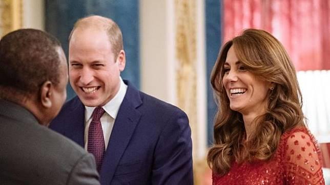 Pangeran William dan Kate Middleton. (Instagram/@kensingtonroyal)