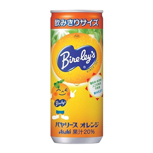 以西班牙巴倫西亞橙汁製成的Bireley's Sukkiri Orange排第11位,特色是除了甜味,酸味也相當的明顯。(互聯網)