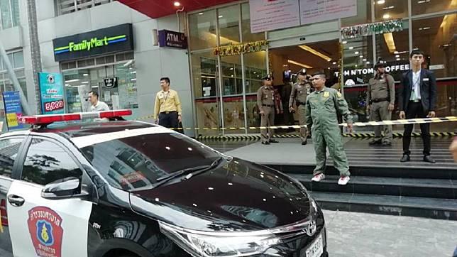 法國男子遭泰國員警開槍爆頭身亡。圖/Manager Daily