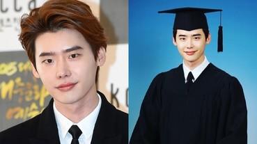 26 歲李鍾碩大學終畢業 歐爸拍畢業照超可愛!