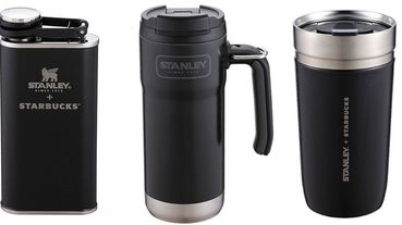 星巴克Starbucks X Stanley黑潮聯名商品來襲!不鏽鋼杯、不鏽鋼水壺等6款必收藏